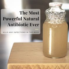 The Most Powerful Natural Antibiotic Ever - This master tonic will knock your socks off and will strengthen your immune system. This tonic is antiviral, antibacterial, antifungal and antiparasitic. All in all, this would be a great thing to make and stockpile up on!