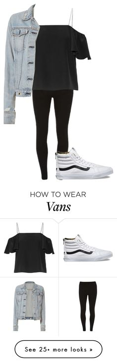 """Super Basic #11"" by fluffy-duck on Polyvore featuring Dorothy Perkins, Vans, Fendi and rag & bone"
