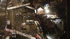 """Image copyright                  AFP                                                                          Image caption                                      El ataque recuerda a otro similar que se produjo en la ciudad francesa de Niza en julio y en el que murieron 85 personas. El alcalde de Niza tuiteó: """"Horror en Berlín. Apoyo al alcalde y al pueblo"""