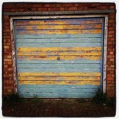 Industrial Garage Door perfect garage door for cabin - tough, industrial, roll-up-door