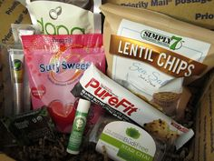 Vegan Cuts Snack Box - monthly subscription service!
