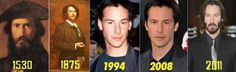 Keanu Reeves is immortal.