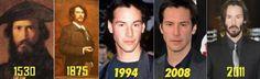 Keanu Reeves is immortal.