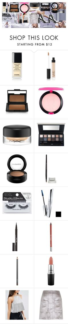 """Ariana Grande ""Break Free"" Get the Look!"" by oroartye-1 on Polyvore featuring beauty, NARS Cosmetics, MAC Cosmetics, CARGO, Maybelline, Ardell, L'Oréal Paris, Stila, Urban Decay and ASOS"