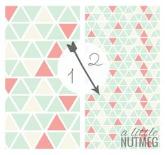 Free graphic iPhone wallpapers // a little nutmeg