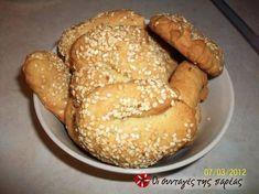Greek Sweets, Greek Desserts, Greek Recipes, Sweets Recipes, Cooking Recipes, Healthy Cooking, Vegetarian Recipes, Koulourakia Recipe, Greek Cookies