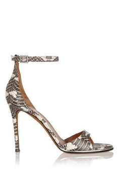 Givenchy Snake Sandals as seen on Eva Longoria Sexy Heels, High Heels, Snake Skin Shoes, Spring Shoes, Beautiful Shoes, Shoe Boots, Shoes Sandals, Dressy Sandals, Heels