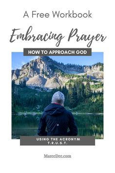 "The ""Embracing Prayer"" workbook will introduce you to a new idea on prayer using trust as your guide. Many times, a slight change in our approach to Jesus ignites our relationship with Him. Click the link in the sidebar on my website. How To Introduce Yourself, Free Printables, Trust, Prayers, Relationship, Change, God, Times, Website"