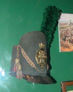 LIght Company Officer's Belgic Shako- 27th (Inniskilling) Regiment of Foot, 1812-1816