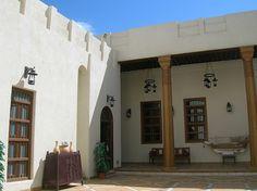 Old Kuwait Architecture Courtyard by Italian in Kuwait on Flickr