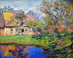 Claude Monet - Chaumiere normande, 1888 at Kunsthaus Zürich - Zurich SwitzerlandMB1_1727 by mbell1975, via Flickr