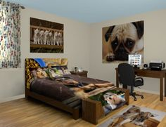 Puppy Wall Murals, everyone loves the cute little bundles of love. Take a look at our Puppy designs at http://www.visionbedding.com/WallMurals/Puppy.php