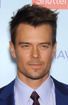 Josh Duhamel's Wind Swept Undercut with Widow's Peak - Josh shows us you don't need a straight hairline to sport an undercut. Embrace your widow's peak for this rugged and angular hairstyle.