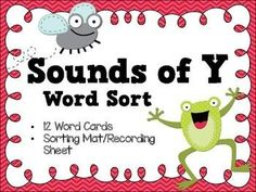 Sounds of Y Word Sort - Literacy Center - Freebie - Grab this FREE download to use with your Kindergarten, 1st, 2nd, or 3rd grade classroom or home school students as they learn the various sounds the letter Y makes. Great for ELA or literacy centers or stations. Students will know that Y makes a long I or long E sound through this word sort. Grab yours today! {K, first, second, third graders}