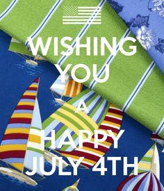 We hope you enjoy a happy and safe Independence Day! - Robert Allen Design