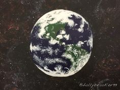 Orbiting - Holly Brooker, Class Art Project, Acrylic Paints