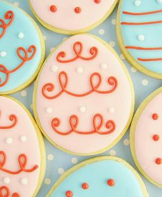 easter cookies! by hello naomi, via Flickr