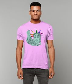 Cher as The Statue of Liberty! LGBT, Gay T-Shirt! Cool Shower Curtains, Lgbt T Shirts, Ken Doll, Barbie And Ken, Gay Pride, Mardi Gras, Statue Of Liberty, Pop Art, Cher