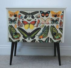 Repurposed Bedside Tables And Some Nice Ideas #repurposedfurniturechair