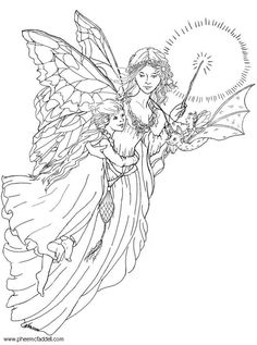 Click Children Are Protected by Guardian Angel Coloring