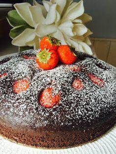 L'amore per la cucina di Sonia:  Torta cioccolato e fragole vegan      Ingredienti...