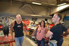 American Jewelry and Loan - Hardcore Pawn visit OCC! We had a great afternoon meeting and showing the crew from American Jewelry and Loan - Hardcore Pawn around the complex. Then a great meal in the OCC Cafe. Thanks for stopping by! Les Gold, Orange County Choppers, American Chopper, Chopper Bike, American Jewelry, Meal, Tv, Abstract, Summary