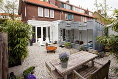 vanOmmeren architects have designed a contemporary extension for a house in Haarlem, The Netherlands.