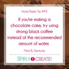 CAKE MIX TIP For more fantastic baking tips, tricks and ideas, check out Simply Create. Baking Secrets, Baking Tips, Baking Recipes, Baking Hacks, Baking Substitutions, Baking Desserts, Baking Ideas, Cake Mix Recipes, Dessert Recipes