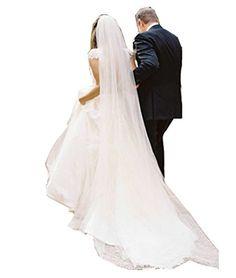 CARADRESS 3M Bridal Veils Cathedral Ivory Wedding Veil Lo... https://www.amazon.com/dp/B01JCCZYY8/ref=cm_sw_r_pi_dp_IxiNxbE6Y9PV7
