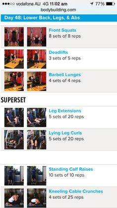 Arnold schwarzeneggers blueprint to cut pinterest workout arnold schwarzenegger blueprint workout day 6 malvernweather