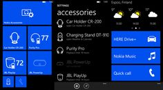 Nokia Accessories application Update for Nokia Lumia WP8 smartphones - 2.6.3.2   Nokia today released an update to Nokia Accessories Lumia Windows Phone applying devices.