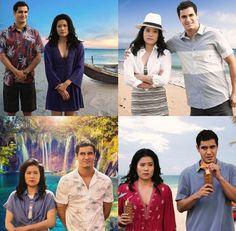 The awkward fake honeymoon in Tahiti.....
