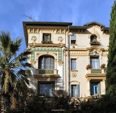 Belle Epoque - Nice. Villa Faidherbe.
