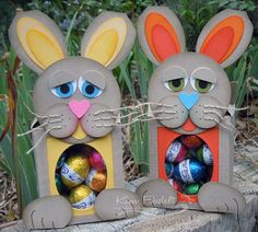 Bunny Boxes by Kim Badelt