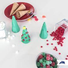 cute idea using ice cream cones