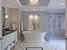 This spectacular bathroom by Knutson Residential Design won Best Before & After Bathroom.