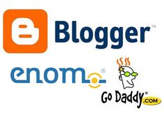 Choose Enom Or GoDaddy Custom Domain Blogger via spice up your blog