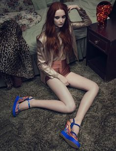 Codie Young Fronts Terry de Havilland Spring 2013 Campaign by Sarah Piantadosi