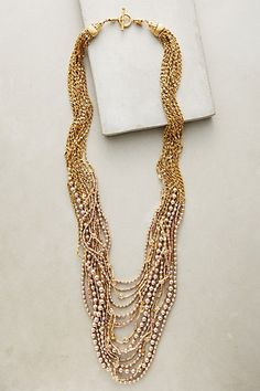 Isotta Layer Necklace #anthropologie