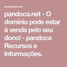 pandoca.net-O domínio pode estar à venda pelo seu dono!-pandoca Recursos e Informações.
