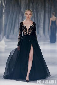 Paolo Sebastian 2016 A|W Couture - The Snow Maiden
