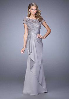 La Femme Evening 21620 Mother Of The Bride Dress photo