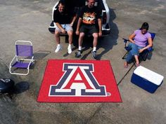 Fanmats Alabama Crimson Tide Tailgater Mat  http://allstarsportsfan.com/product/fanmats-alabama-crimson-tide-tailgater-mat/?attribute_pa_color=arizona-wildcats  Show your team pride and add style to your tailgating party with FANMATS area rugs Made in U.S.A 100% nylon carpet and non-skid Duragon latex backing