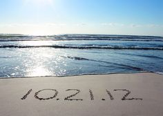 "No need to send out ""save the dates"", but you could email a clever photo with the date, hearts, name, whatever in the sand. And I like it with the nearby surf."