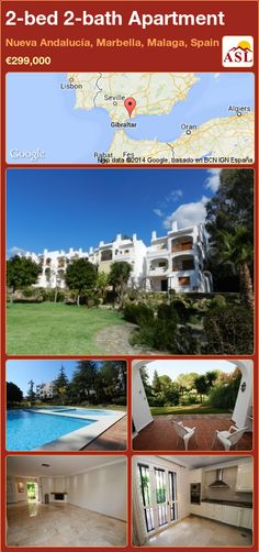 2-bed 2-bath Apartment in Nueva Andalucía, Marbella, Malaga, Spain ►€299,000 #PropertyForSaleInSpain