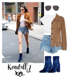 """Kendall's outfit"" by bellanindia on Polyvore featuring E L L E R Y, Alexander Wang, Chopard, Yves Saint Laurent and xO Design"