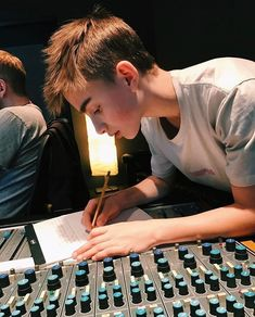 Writing a new song Johnny ❤️