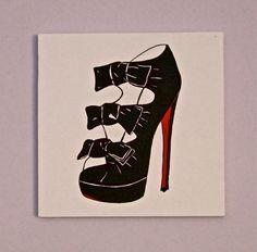 Christian Louboutin Pop Art Painting