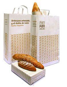 Pan Pan Packaging Design Bakery Branding, Bakery Packaging, Food Packaging Design, Packaging Design Inspiration, Branding Design, Restaurant Branding, Corporate Branding, Packaging Ideas, Logo Branding