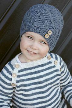 Baby Boy Knitting, Crochet Baby Hats, Knitting For Kids, Easy Knitting, Baby Knitting Patterns, Knitting Projects, Knitted Hats, Knit Crochet, Baby Barn